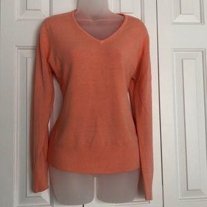 Peach Carolyn Taylor sweater
